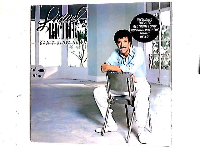 Can't Slow Down LP Gat By Lionel Richie