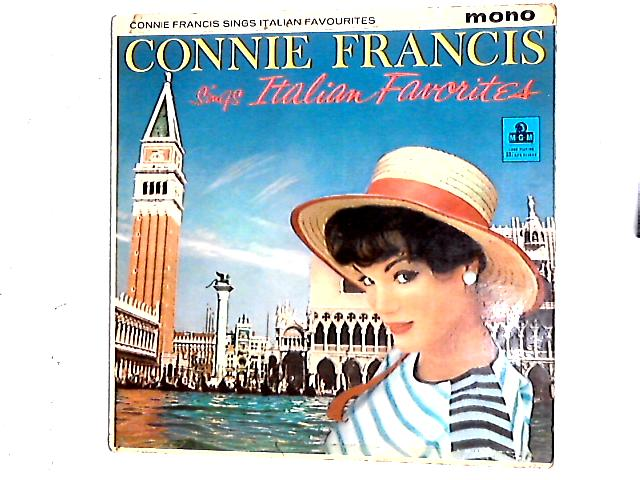 Sings Italian Favorites LP By Connie Francis