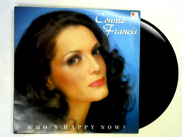 Who's Happy Now? LP 1st By Connie Francis