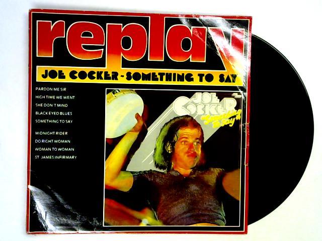 Something To Say LP By Joe Cocker
