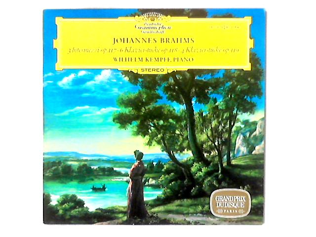 3 Intermezzi Op. 117, 6 Klavierstücke Op. 118, 4 Klavierstücke Op. 119 LP By Johannes Brahms