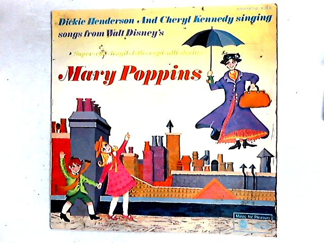 Songs From Walt Disney's Mary Poppins LP By Dickie Henderson