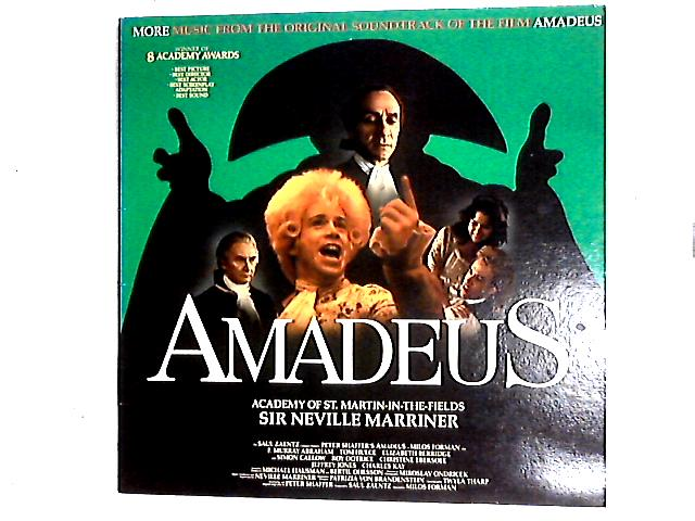 Amadeus (More Music From The Original Soundtrack Of The Film) LP Gat By Sir Neville Marriner