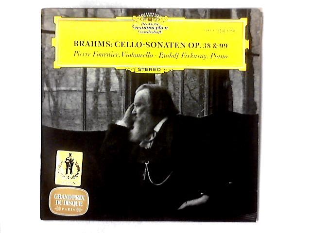 Cello-Sonaten Op. 38 & 99 LP By Johannes Brahms