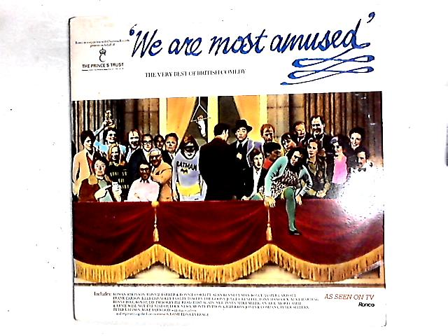 We Are Most Amused: The Best Of British Comedy 2LP Comp By Various