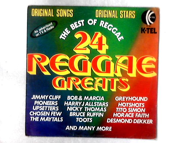 24 Reggae Greats LP COMP by Various