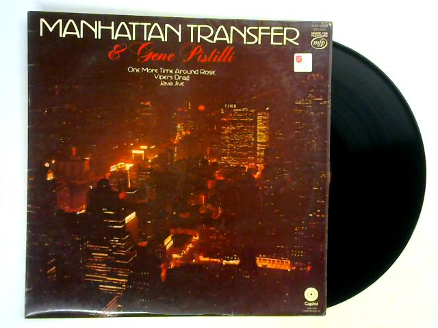 Manhattan Transfer And Gene Pistilli LP By The Manhattan Transfer