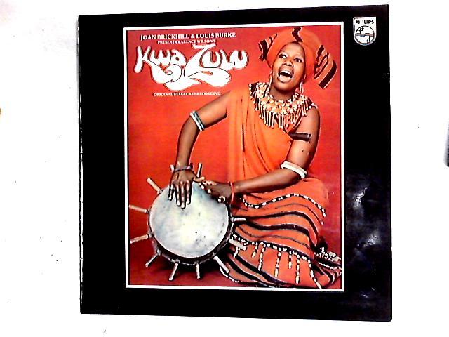 Kwa Zulu - Original Stage Cast Recording LP By Joan Brickhill