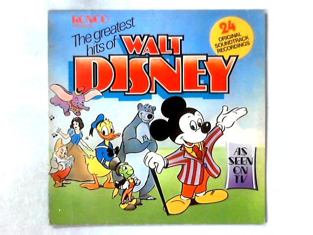 The Greatest Hits Of Walt Disney LP COMP by Various