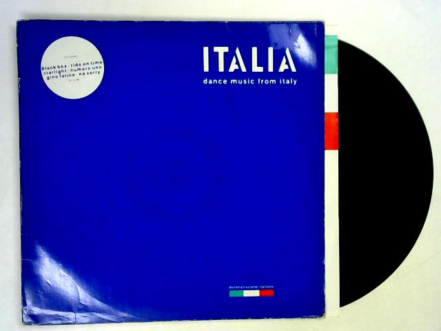 Italia – Dance Music From Italy LP By Various