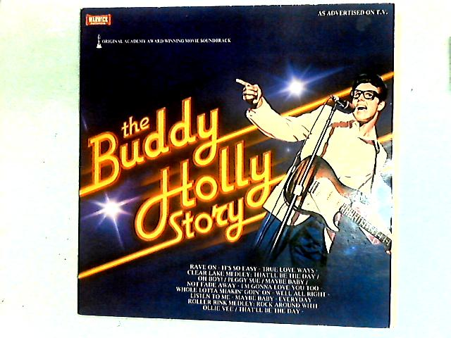 The Buddy Holly Story - Original Academy Award Winning Movie Soundtrack LP By Gary Busey