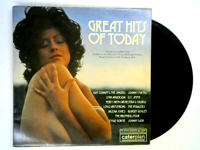 Great Hits Of Today LP By Various