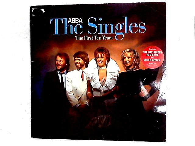 The Singles - The First Ten Years 2LP Comp Gat By ABBA