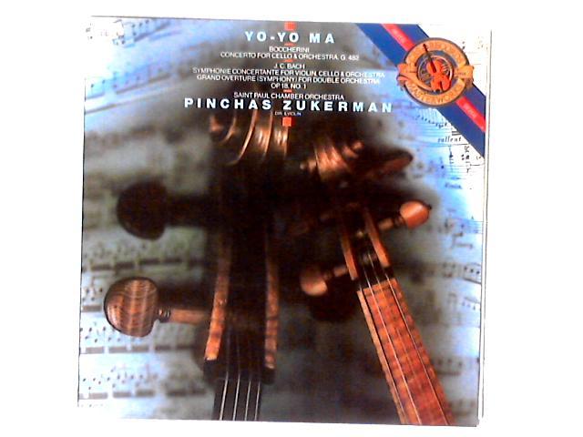 Concerto For Cello & Orchestra, G. 482 / Symphonie Concertante For Violin, Cello & Orchestra / Grand Overture (Symphony) For Double Orchestra Op. 18, No. 1 LP By Luigi Boccherini