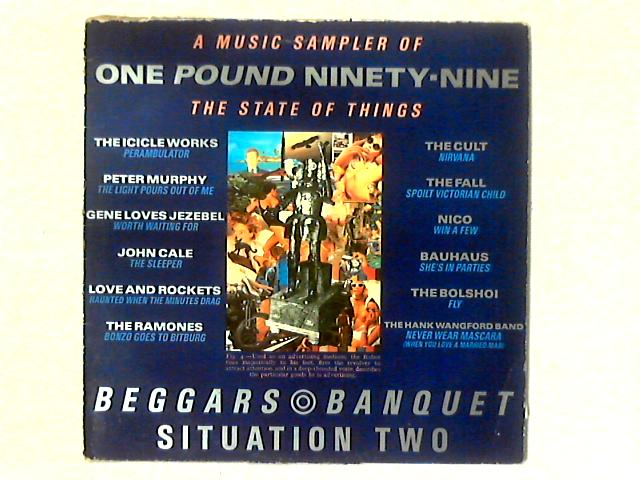 One Pound Ninety-Nine (A Music Sampler Of The State Of Things) LP SAMPLER by Various