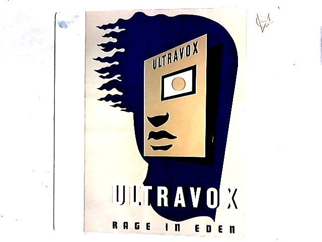Rage In Eden 12in by Ultravox