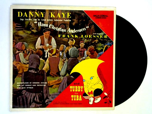 Hans Christian Andersen LP By Danny Kaye