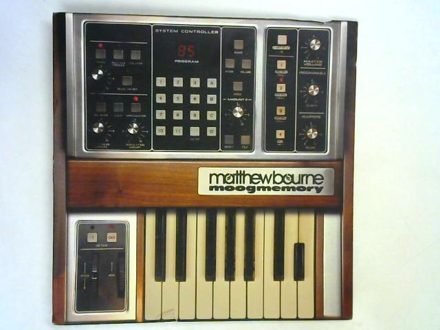 Moogmemory LP By Matthew Bourne