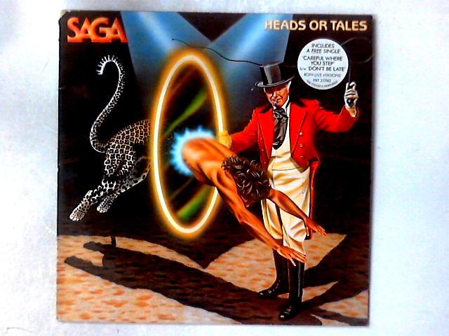 Heads Or Tales LP By Saga (3)