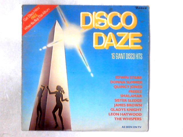 Disco Daze (16 Giant Disco Hits) LP COMP By Various