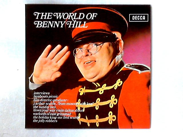 The World Of Benny Hill LP By Benny Hill