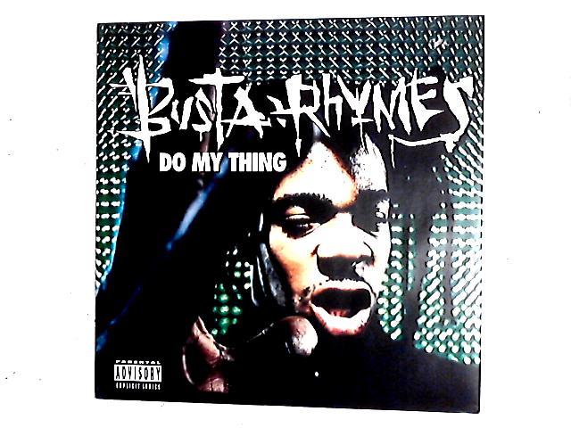 Do My Thing 12in By Busta Rhymes