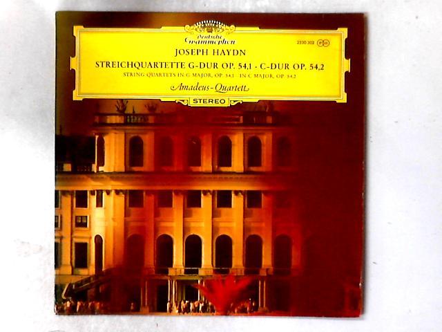 Streichquartette G-Dur Op.54,1 , C-Dur Op 54,2 LP By Amadeus-Quartett