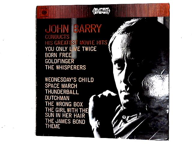 John Barry Conducts His Greatest Movie Hits Comp By John Barry