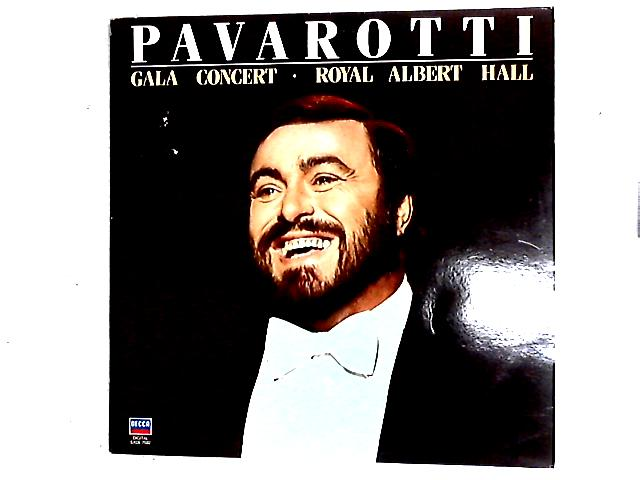 Gala Concert . Royal Albert Hall LP By Luciano Pavarotti