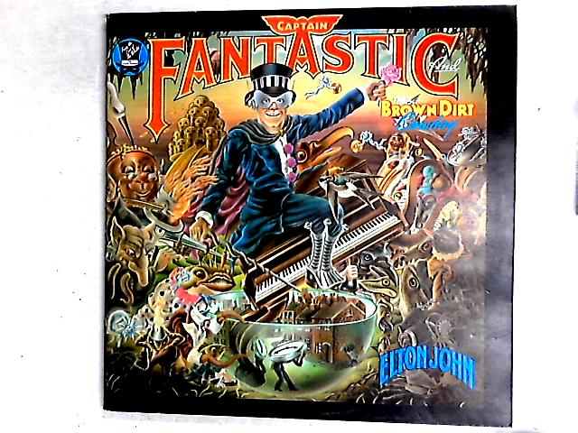 Captain Fantastic And The Brown Dirt Cowboy LP Gat + booklets + Poster By Elton John