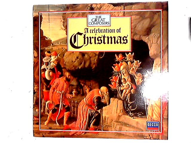 A Celebration Of Christmas LP + Booklet By Various