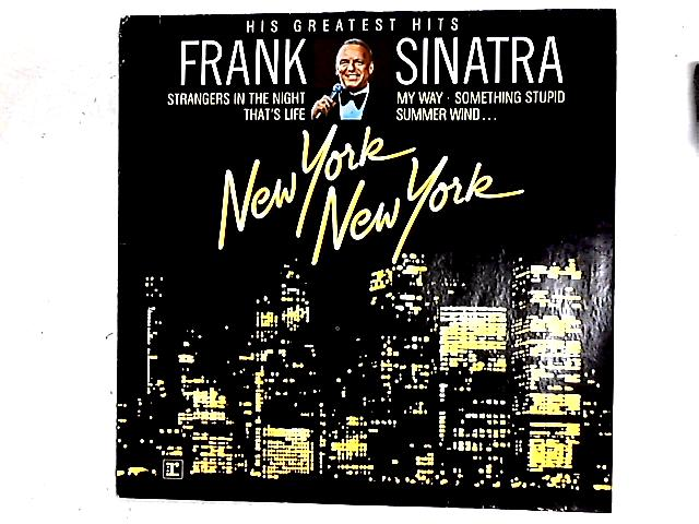 New York New York: His Greatest Hits Comp By Frank Sinatra