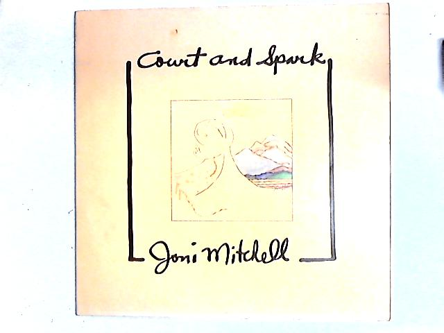 Court And Spark LP Gat By Joni Mitchell