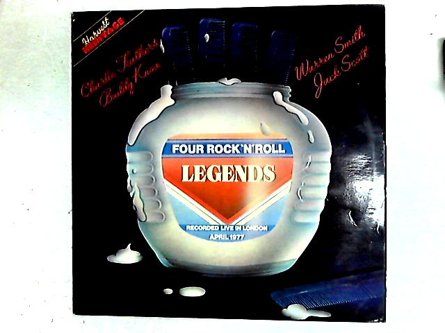 Four Rock'N'Roll Legends LP By Charlie Feathers