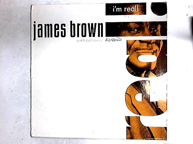 I'm Real LP By James Brown With Full Force