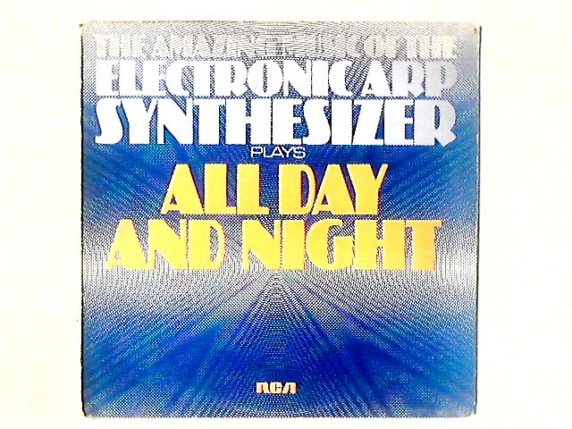 The Amazing Music Of The Electronic Arp Synthesizer Plays All Day And Night LP by Gordon Langford