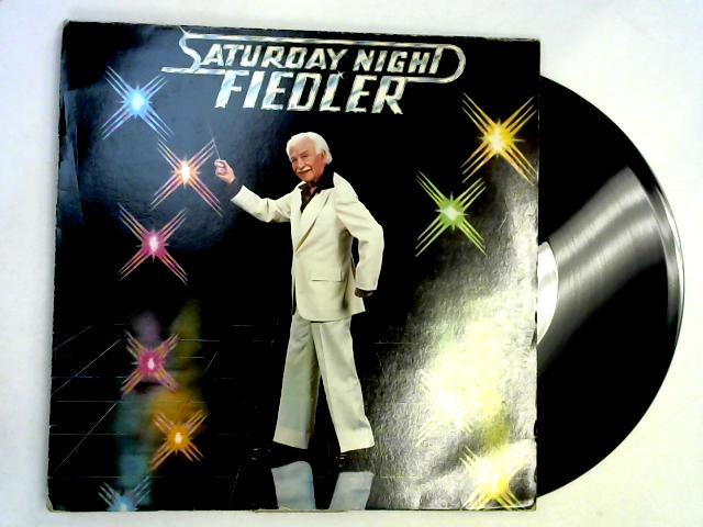 Saturday Night Fiedler LP 1st By The Boston Pops Orchestra & Arthur Fiedler