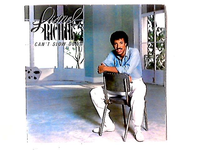 Can't Slow Down LP By Lionel Richie