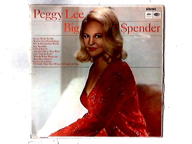 Big Spender LP By Peggy Lee