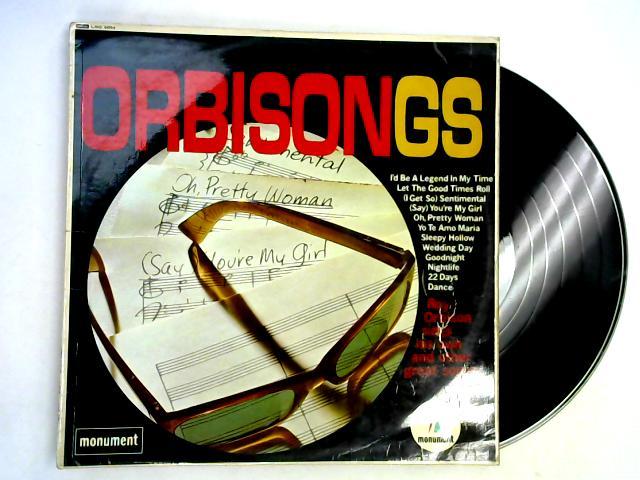 Orbisongs LP By Roy Orbison