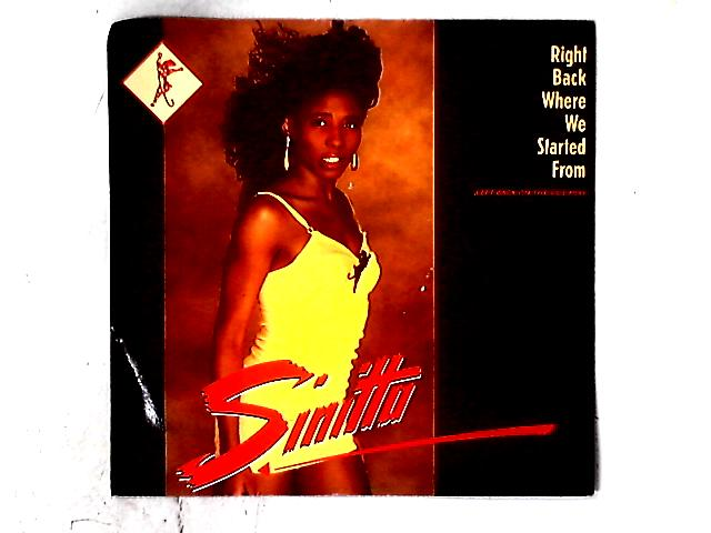Right Back Where We Started From 12in By Sinitta