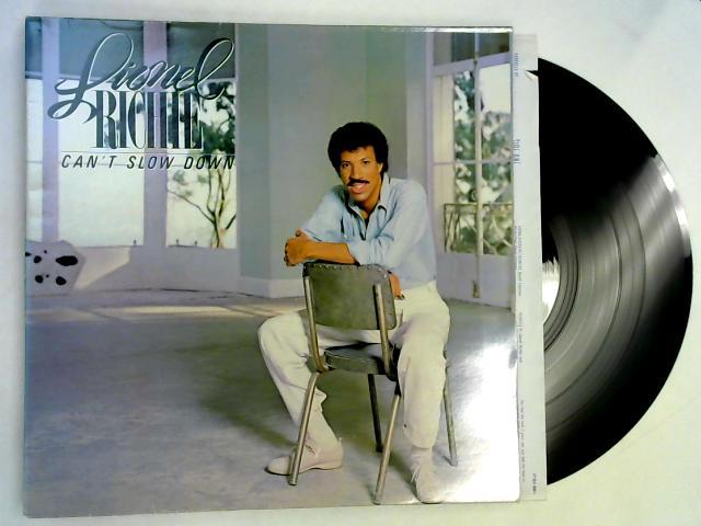 Can't Slow Down LP 1st By Lionel Richie