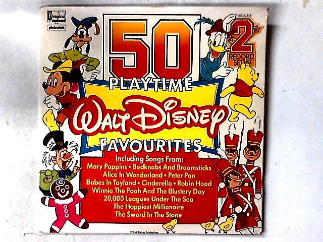 50 Playtime Walt Disney Favourites 2xLP COMP By Various