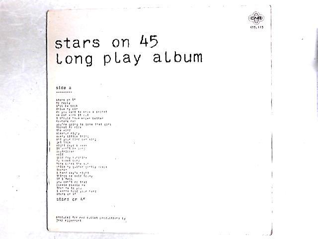 Long Play Album LP By Stars On 45