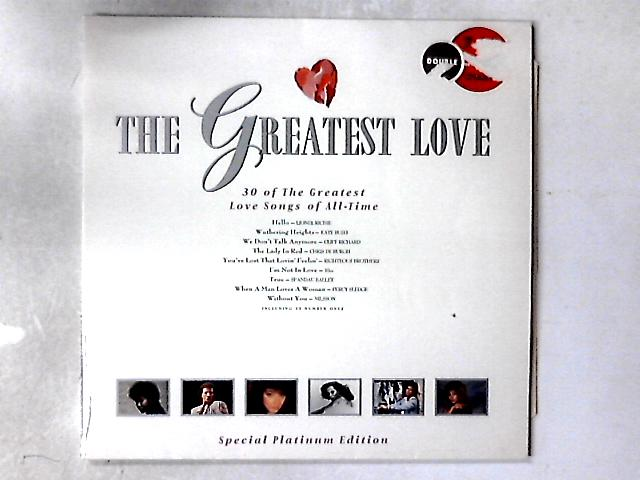 The Greatest Love 2XLP By Various