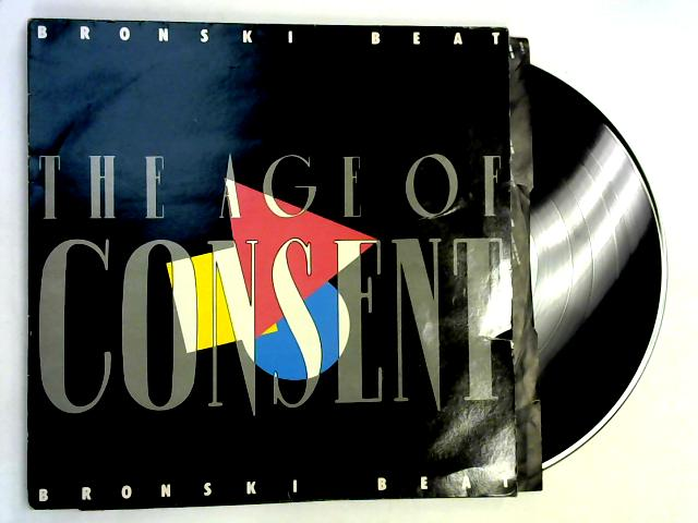 The Age Of Consent LP 1st By Bronski Beat