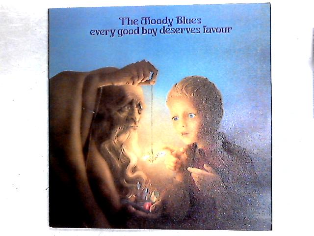 Every Good Boy Deserves Favour LP Gat By The Moody Blues