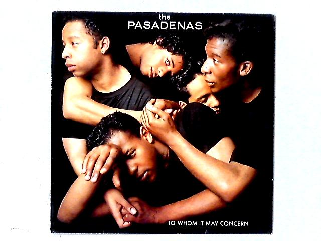 To Whom It May Concern LP By The Pasadenas