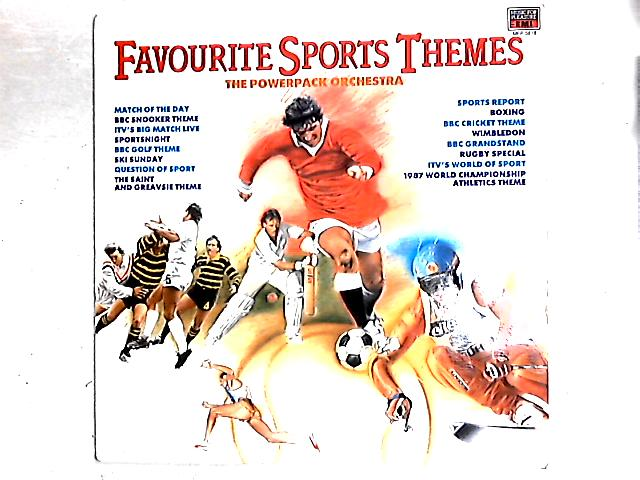 Favourite Sports Themes LP By The Power Pack Orchestra