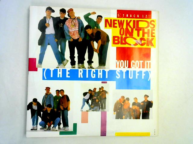 You Got It (The Right Stuff) 12in 1st By New Kids On The Block